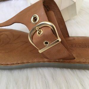 Born Shoes - Born Leather Sandals 8m
